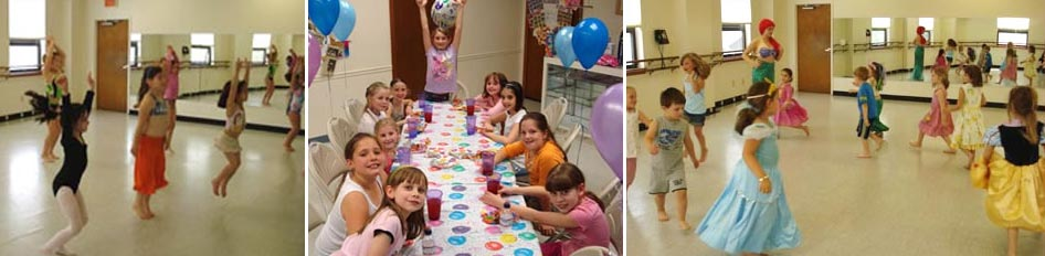 birthday parties for kids in North Andover